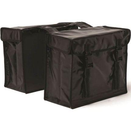 NL dubbele tas bisonyl zwart