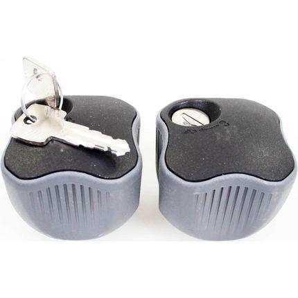 Thule set knop met slot (2)