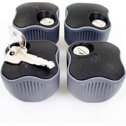 Thule set knop met slot (4)
