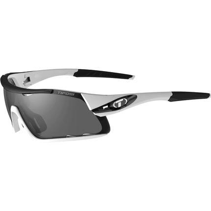 Tifosi bril Davos wit/zwart (nieuw 2017)