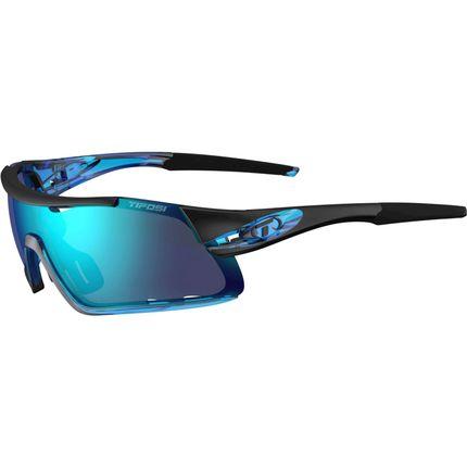 Tifosi bril Davos crystal blauw clarion blauw