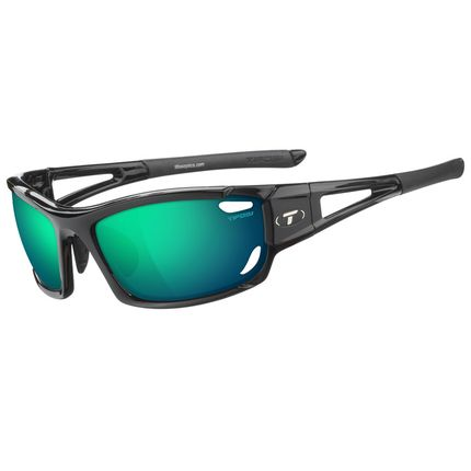 Tifosi bril Dolomite 2.0 gloss zwart clarion groen