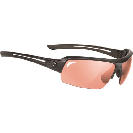 Tifosi bril Just mat zwart fototec rood