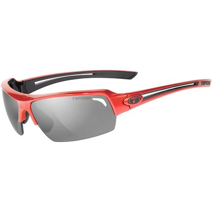 Tifosi bril Just metallic rood smoke polarized