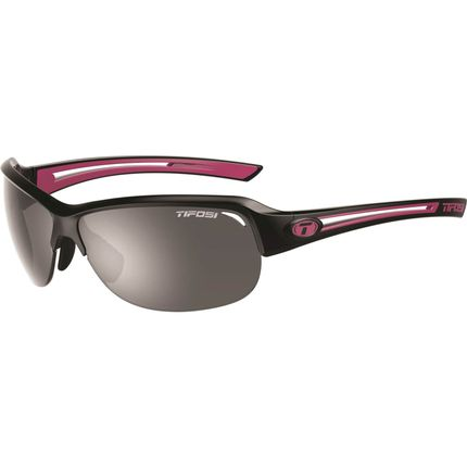 Tifosi bril Mira zwart/roze smoke