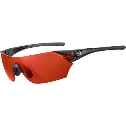 Tifosi bril Podium mat zwart clarion rood
