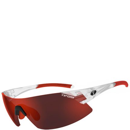 Tifosi bril Podium XC mat crystal/rood