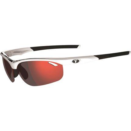 Tifosi bril Veloce wit/zwart clarion rood