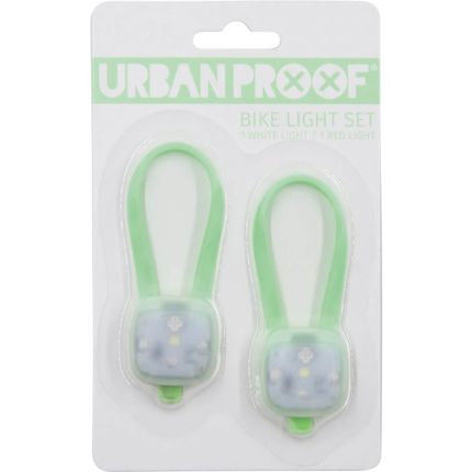 UP SMD LED fietslampjes set Pastel groen