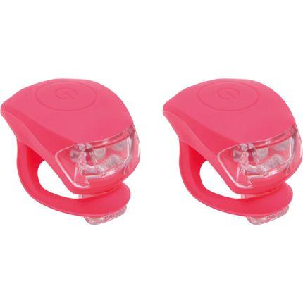 UP Siliconen Fietslampjes set Kreeft rood