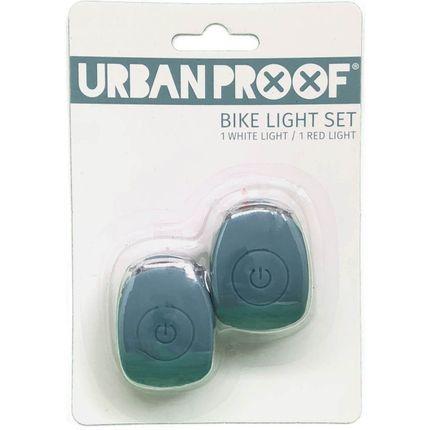 Urban Proof verlichtingsset Siliconen batterij ijsblauw