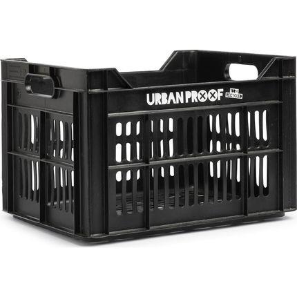 Urban Proof fietskrat 30 liter Black Recycled