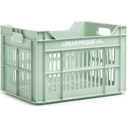 Urban Proof fietskrat 30 liter Frosty green Recycled
