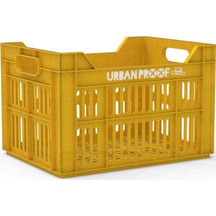 Urban Proof fietskrat 30 liter Ocre yellow Recycled