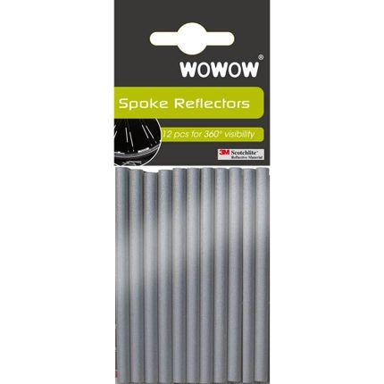 Wowow Spoke reflectors 3M Polybag 12 pcs