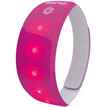 Wowow Lightband roze XL Rode LED