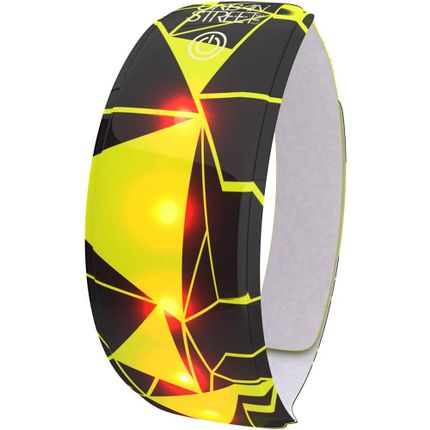 Wowow Lightband Urban geel 3M XL Rode LED
