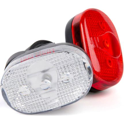 IKZI Light verlichtingsset ovaal 3 led batterij