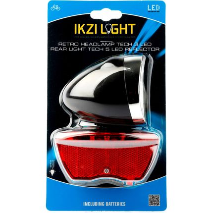 IKZI Light verlichtingsset Retro batterij zwart