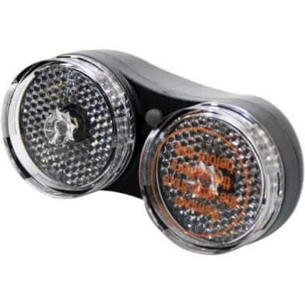 IKZI Light koplamp Dobbel batterij zwart oem