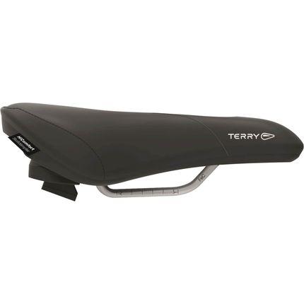 Terry zadel Fisio GT D zwart
