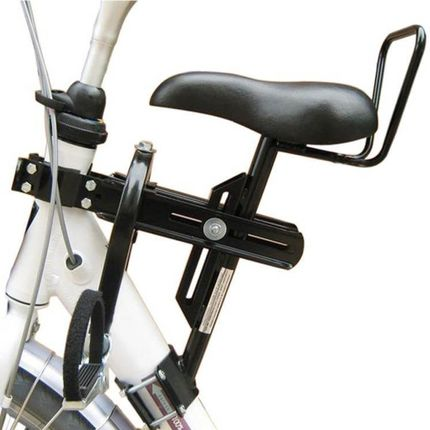 zadel op buis D fiets mono model 4