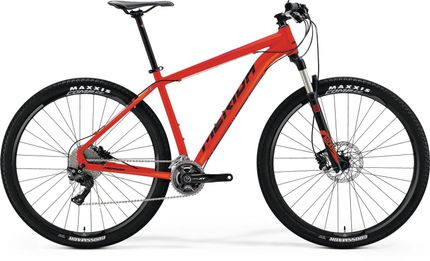 Merida Big Nine Xt Edition Matt Red/Orange/Black 17''''