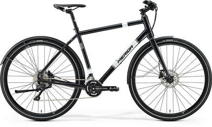 Merida Crossway Urban 300 Black/White 55Cm