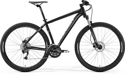 Merida Big Nine 40-d Matt Black/grey Xxl