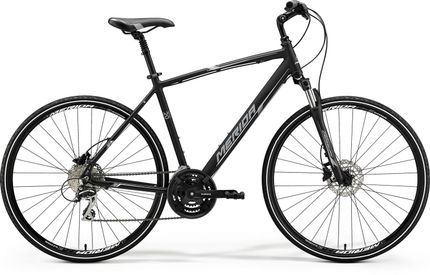 CROSSWAY 20 MATT BLACK/WHITE/GREY XXL
