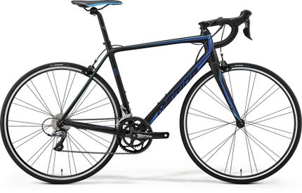 SCULTURA 100 MATT BLACK/BLUE M-L 54CM