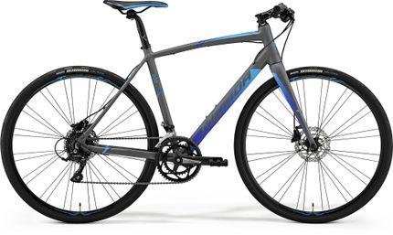 SPEEDER 200 MATT GREY/BLUE XS 47CM
