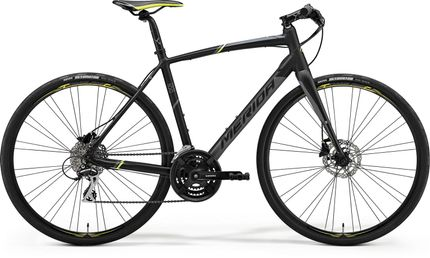 SPEEDER 100 MATT BLACK/GREY/YELLOW S-M 52CM