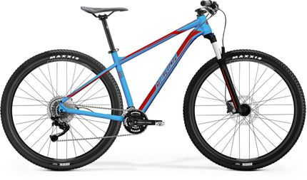 BIG NINE 300 METALLIC BLUE/RED XXL