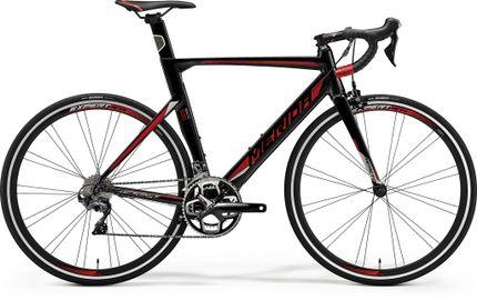 REACTO 500 METALLIC BLACK/RED/SILVER L 56CM
