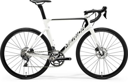 REACTO DISC 5000 PEARL WHITE/BLACK/GREY M-L 54CM
