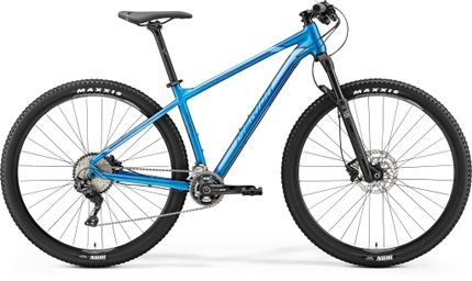 Merida Big Nine Xt Edition Silk Sea Blue/silver/dark Blue