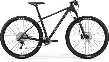 Merida Big Nine Limited Matt Black/glossy Blue Xl 21