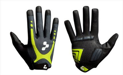 Cube Gloves Nat. Fit Touch Lf Lime/blk L (9)