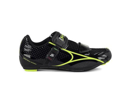 SPIUK SHOES BRIOS ROAD BLACK/YELLOW HIGH VIS