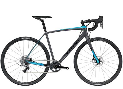 Trek Boone 5 Disc 56 Solid Charcoal/California Sky Blue