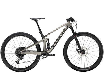 Trek Top Fuel 9.7 NX ML Metallic Gunmetal/Dnister Black