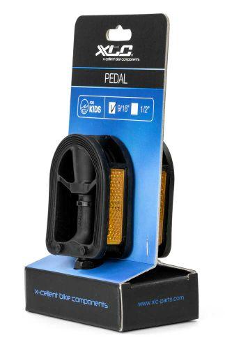 PEDAAL XLC KIND PVC 9/16 ZW STEL