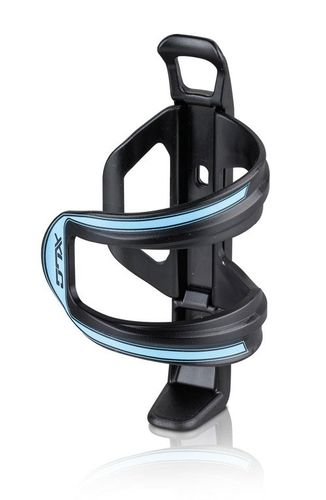 BIDONHOUDER XLC SIDECAGE PVC ZW/BL BCS06