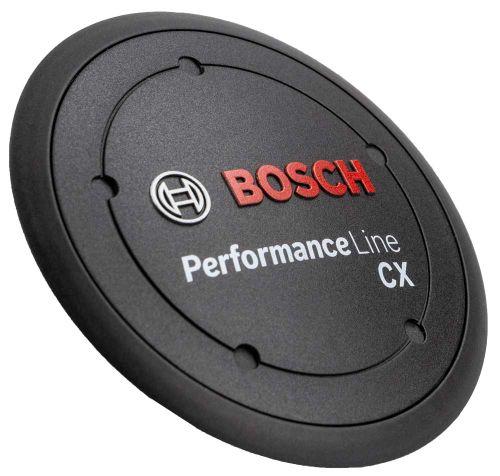 Logo-deksel Performance Line CX. zwart incl. Tus