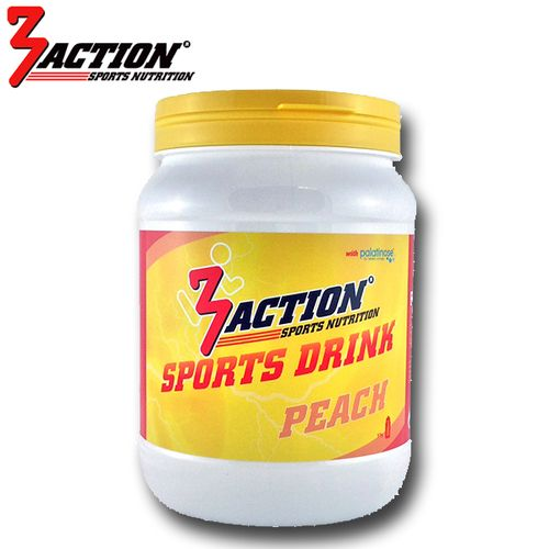 3 ACTION SPORTS DRINK 500GR - PEACH