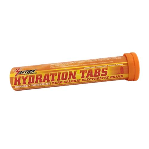 3 ACTION HYDRATATION TABS ORANGE