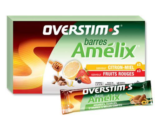 OVERSTIMS AMELIX BAR AMANDEL ORANGE MELON