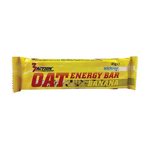3 ACTION ENERGY BAR 45GR - OAT BANAAN