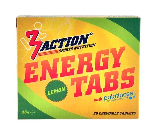 3 ACTION ENERGY TABS 20ST